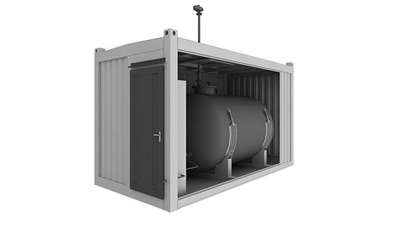 Топливохранилище дизельной котельной установки